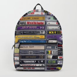 Old School 80's and 90's Hip Hop Tapes v2 Backpack
