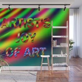 Artist's joy of art 4 Wall Mural