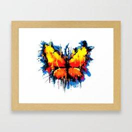 Emotional Butterlfy Framed Art Print