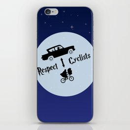 Respect Cyclists iPhone Skin