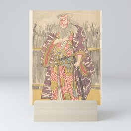The Actor Ichikawa Ebizō (Danjūrō V) as the Elderly Samurai Sasaki Ganryū Mini Art Print