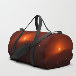 Solar Eclipse over Somerset, 2015 Duffle Bag