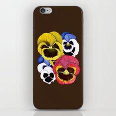 Pansies iPhone & iPod Skin