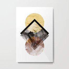 Geometric Composition 5 Metal Print