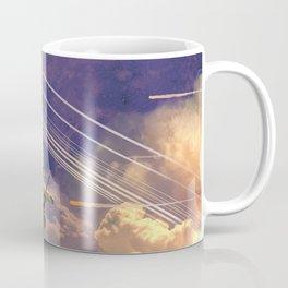 Running on Empty Spaceship Coffee Mug