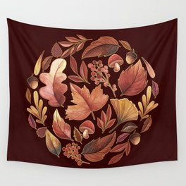 The Winds Of Autumn Have Returned Wall Tapestry