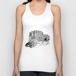shadow at the top of the hill Unisex Tank Top