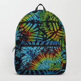 Exhale: A vibrant mix of colors of the rainbow Backpack