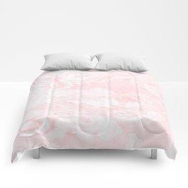 Pink Marble Comforters
