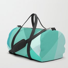 Minty Jagged Edges Duffle Bag