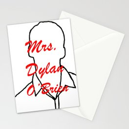 Mrs. Dylan O' Brien Stationery Cards