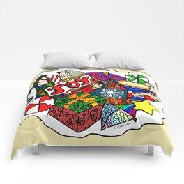 JOY of Christmas Comforters
