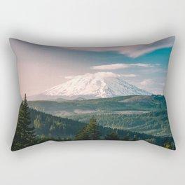 Saints and Sinners - 126/365 Nature Photography Mount St. Helens Rectangular Pillow