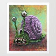 Death Snail Art Print