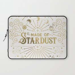 Made of Stardust – Gold Palette Laptop Sleeve