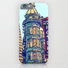 North Beach, San Francisco #068 by Mark Gould iPhone 6s Slim Case