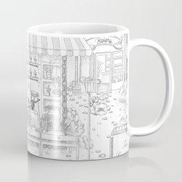 Town Visit Coffee Mug