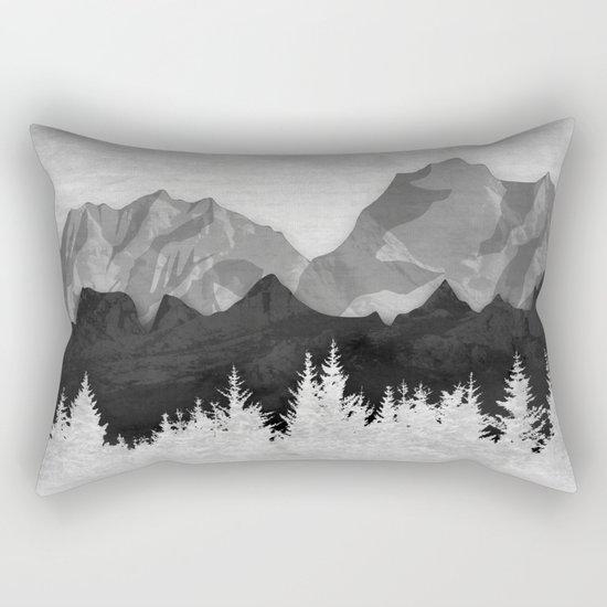 Layered Landscapes Rectangular Pillow