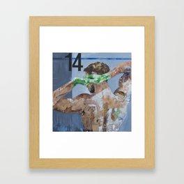 Measurements Framed Art Print