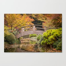 Fall in the Japanese Garden Canvas Print