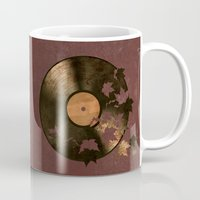 autumn Mugs featuring Autumn Song  by Terry Fan