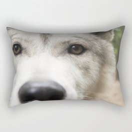 Aurora - Wolf Rectangular Pillow