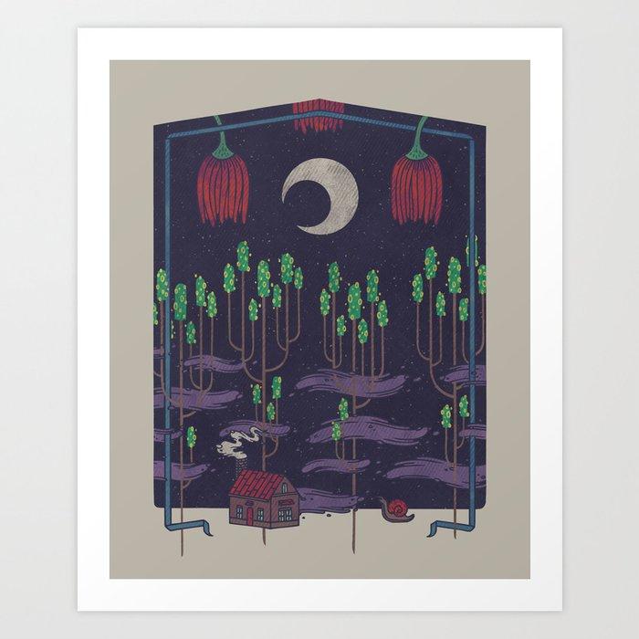 Vacation Home Art Print