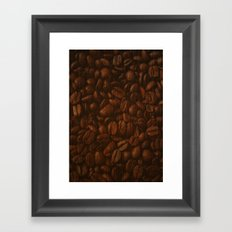 Coffee Bean Framed Art Print