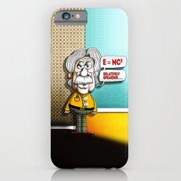 Relatively Einstein iPhone Case