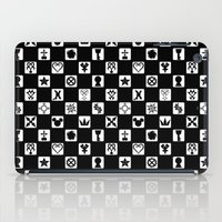 kingdom hearts iPad Cases featuring Kingdom Hearts Grid by KewlZidane