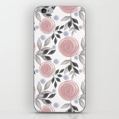 Delicate floral pattern. iPhone & iPod Skin