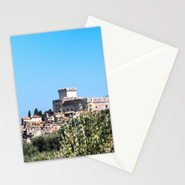 Sermoneta, a walled town Stationery Cards