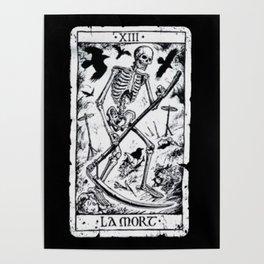 La Mort Card Poster