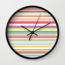 Sun Stripes Wall Clock