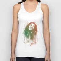 marley Tank Tops featuring Marley Bob by getzair