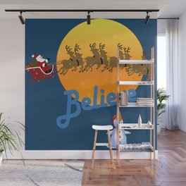 Believe In Santa Claus  Wall Mural