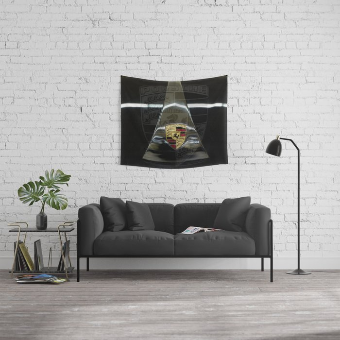 Tribute to the Legendary 356 Wall Tapestry