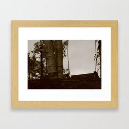 Rest Stop Framed Art Print