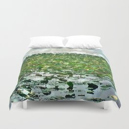 Lily Pads On The River Duvet Cover