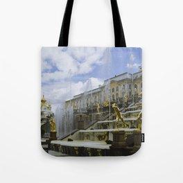 Fountains of Peterhof Tote Bag