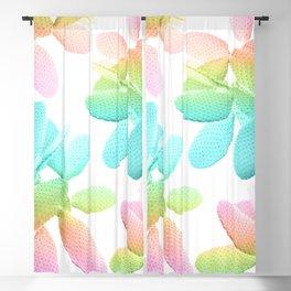 Rainbow Cacti Vibes #1 #pattern #decor #art #society6 Blackout Curtain