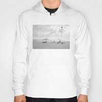 portugal Hoodies featuring Beach (Portugal) by mojekris