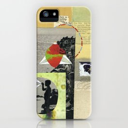 I Get Excited When I See Bees Now. iPhone Case