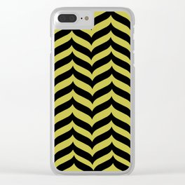 Spike ll (gold) Clear iPhone Case
