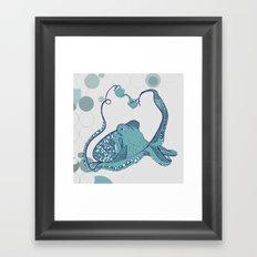 Octopus ! Framed Art Print