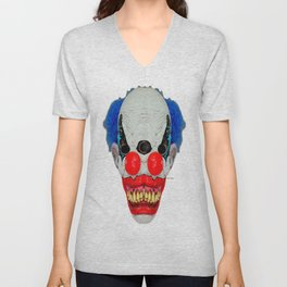 Creepy Clown Unisex V-Neck