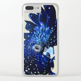 """""""Amelia"""" The Red Tailed Cockatoo Clear iPhone Case"""