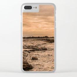 Sea Sky & Stone Clear iPhone Case