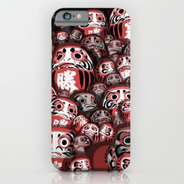 Japanese dolls iPhone Case