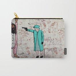 Street Art London Queen Thug Urban Wall Graffiti Artist Prolifik Carry-All Pouch